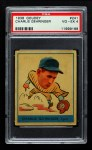 1938 Goudey Heads Up #241 / #265 Charley Gehringer  Front Thumbnail