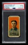 1909 T206 POR Mordecai Brown  Front Thumbnail