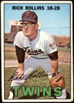 1967 Topps #98  Rich Rollins  Front Thumbnail