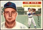 1956 Topps #74  Jim King  Front Thumbnail