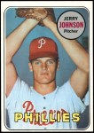 1969 Topps #253  Jerry Johnson  Front Thumbnail