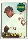1969 Topps #227  Frank Johnson  Front Thumbnail