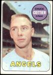 1969 Topps #252  Chuck Cottier  Front Thumbnail