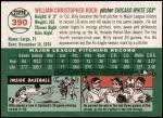 2003 Topps Heritage #390  Billy Koch  Back Thumbnail