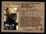 1996 Topps #94  Wayne Simmons  Back Thumbnail