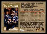 1996 Topps #24  Dave Meggett  Back Thumbnail