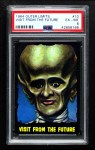 1964 Topps / Bubbles Inc Outer Limits #10   Visit From the Future  Front Thumbnail