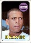 1969 Topps #385  Orlando Cepeda  Front Thumbnail