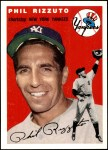 1954 Topps Archives #17  Phil Rizzuto  Front Thumbnail