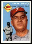 1954 Topps Archives #127  Steve O'Neill  Front Thumbnail