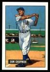 1951 Bowman REPRINT #9  Sam Chapman  Front Thumbnail