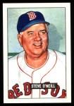 1951 Bowman REPRINT #201  Steve O'Neill  Front Thumbnail