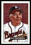 1951 Bowman REPRINT #207  Billy Southworth  Front Thumbnail