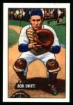 1951 Bowman REPRINT #214  Bob Swift  Front Thumbnail