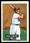 1951 Bowman REPRINT #116  Bruce Edwards  Front Thumbnail