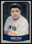 1989 Pacific Legends #176  Babe Ruth  Front Thumbnail
