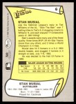 1988 Pacific Legends #6  Stan Musial  Back Thumbnail