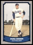 1988 Pacific Legends #55  Duke Snider  Front Thumbnail