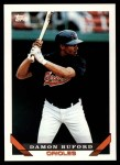 1993 Topps Traded #63 T Damon Buford  Front Thumbnail