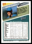 1993 Topps Traded #61 T Mitch Lyden  Back Thumbnail