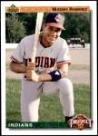 1992 Upper Deck #63  Manny Ramirez  Front Thumbnail