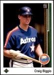 1989 Upper Deck #273  Craig Biggio  Front Thumbnail