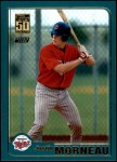 2001 Topps Traded #235 T Justin Morneau  Front Thumbnail