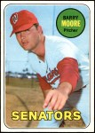 1969 Topps #639  Barry Moore  Front Thumbnail