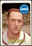 1969 Topps #492  Tony Cloninger  Front Thumbnail