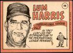 1969 Topps #196  Lum Harris  Back Thumbnail