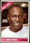 1966 Topps #343  Joe Christopher  Front Thumbnail