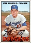 1967 Topps #398  Jeff Torborg  Front Thumbnail