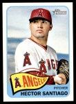 2014 Topps Heritage #94  Hector Santiago  Front Thumbnail