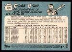 2014 Topps Heritage #119  Chase Utley  Back Thumbnail