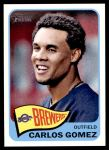 2014 Topps Heritage #457 A Carlos Gomez  Front Thumbnail