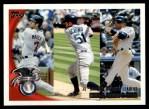 2010 Topps #8   -  Joe Mauer / Ichiro Suzuki / Derek Jeter AL Batting Leaders Front Thumbnail