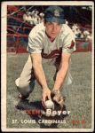1957 Topps #122  Ken Boyer  Front Thumbnail