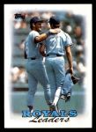 1988 Topps #141   -  George Brett / Bret Saberhagen Royals Leaders Front Thumbnail