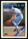 1988 Topps #195  Dan Quisenberry  Front Thumbnail