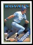 1988 Topps #700  George Brett  Front Thumbnail