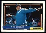 1992 Topps #28  Mike Schooler  Front Thumbnail