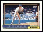 1992 Topps #155  Scott Bankhead  Front Thumbnail