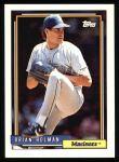 1992 Topps #239  Brian Holman  Front Thumbnail