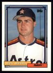 1992 Topps #437  Scott Servais  Front Thumbnail
