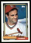 1992 Topps #549  Joe Torre  Front Thumbnail