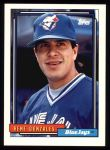 1992 Topps #681  Rene Gonzales  Front Thumbnail