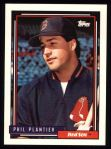 1992 Topps #782  Phil Plantier  Front Thumbnail