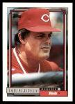 1992 Topps #321  Lou Piniella  Front Thumbnail