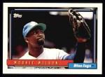 1992 Topps #436  Mookie Wilson  Front Thumbnail