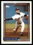 1992 Topps #559  Steve Olin  Front Thumbnail